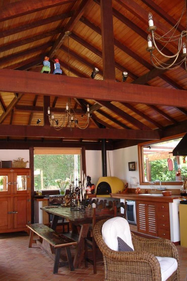Cadore Arquitetura Garasi Gaya Rustic