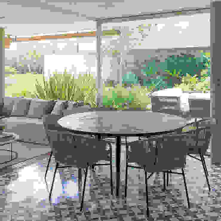 Casa Boa Vista Salas de jantar campestres por Triplex Arquitetura Campestre