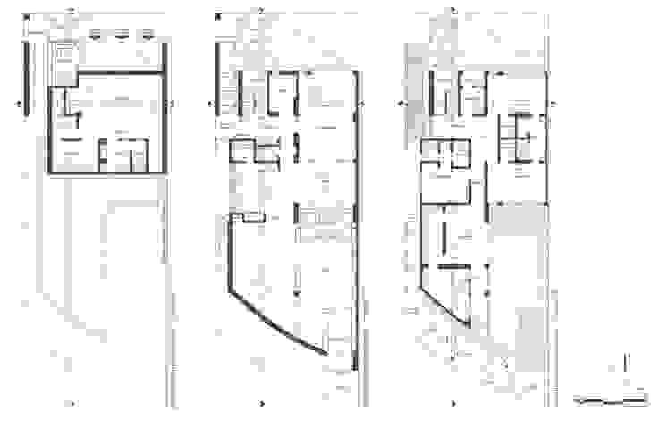 RESIDENCIA R53:  de estilo  por Imativa Arquitectos, Moderno