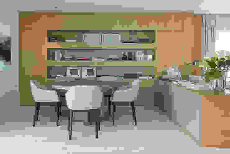Apartamento GR Salas de jantar modernas por Triplex Arquitetura Moderno
