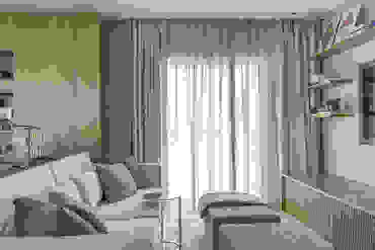 Apartamento GR Salas de estar modernas por Triplex Arquitetura Moderno