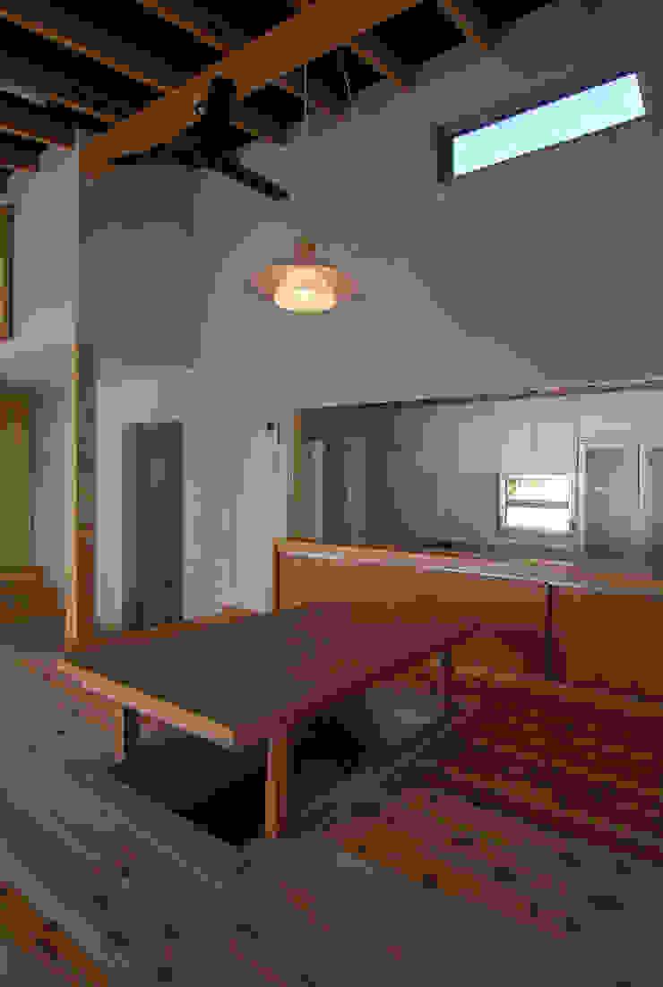 茶畑の家 原 空間工作所 HARA Urban Space Factory ダイニングルームテーブル