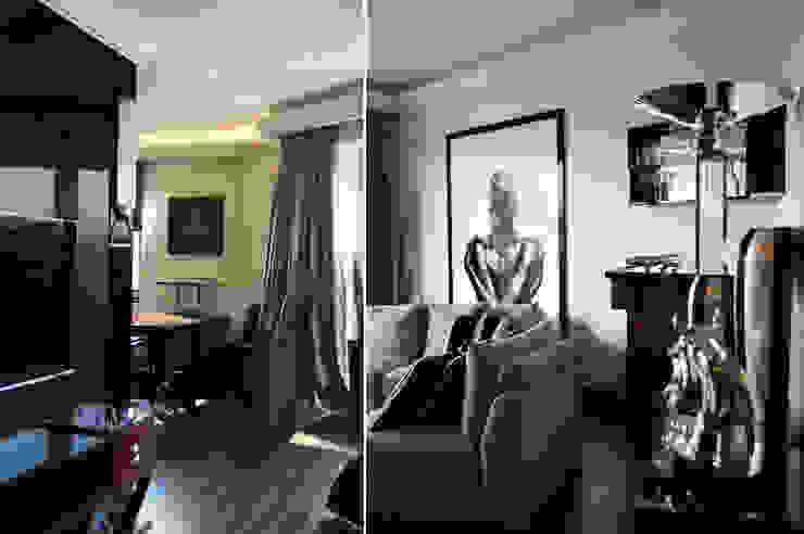Salas de estilo moderno de Pracownia Projektowa Pe2 Moderno