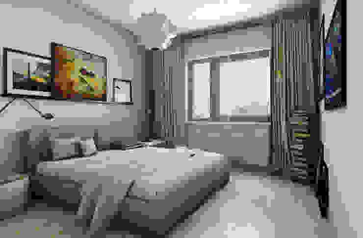 스칸디나비아 침실 by Pracownia Projektowa Pe2 북유럽