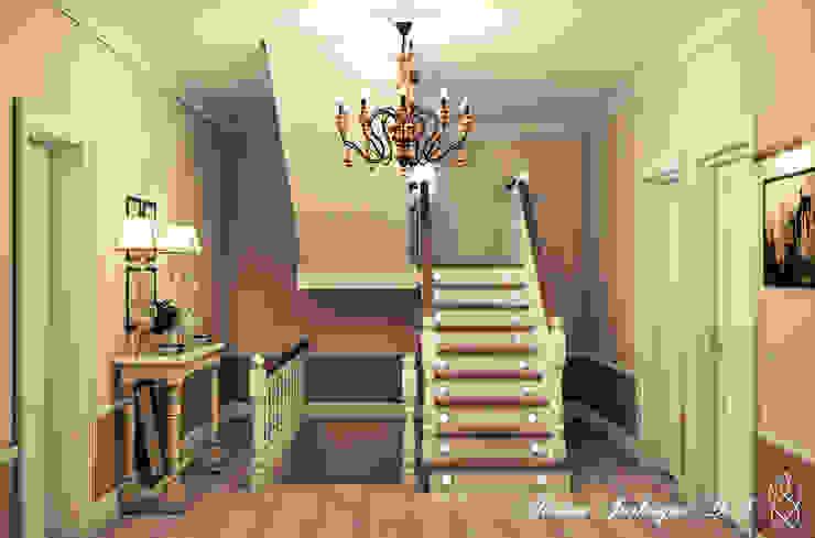 Country Living Коридор, прихожая и лестница в эклектичном стиле от Marina Sarkisyan Эклектичный