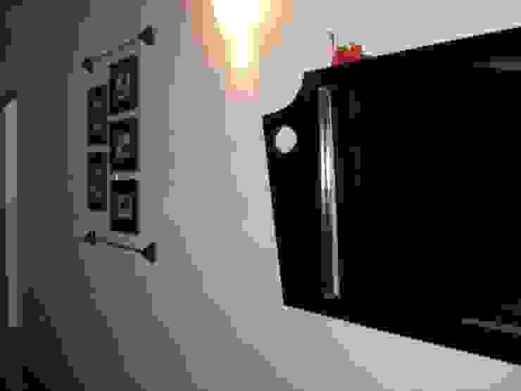 Detalle para recamara Paredes y pisos de estilo mediterráneo de Cenquizqui Mediterráneo