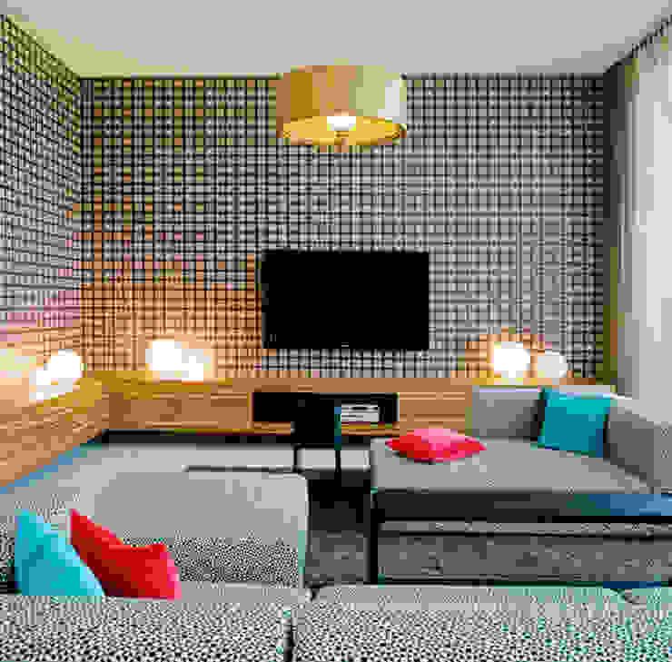 APARTMENT Z Moderne Wohnzimmer von architektur denis kosutic Modern