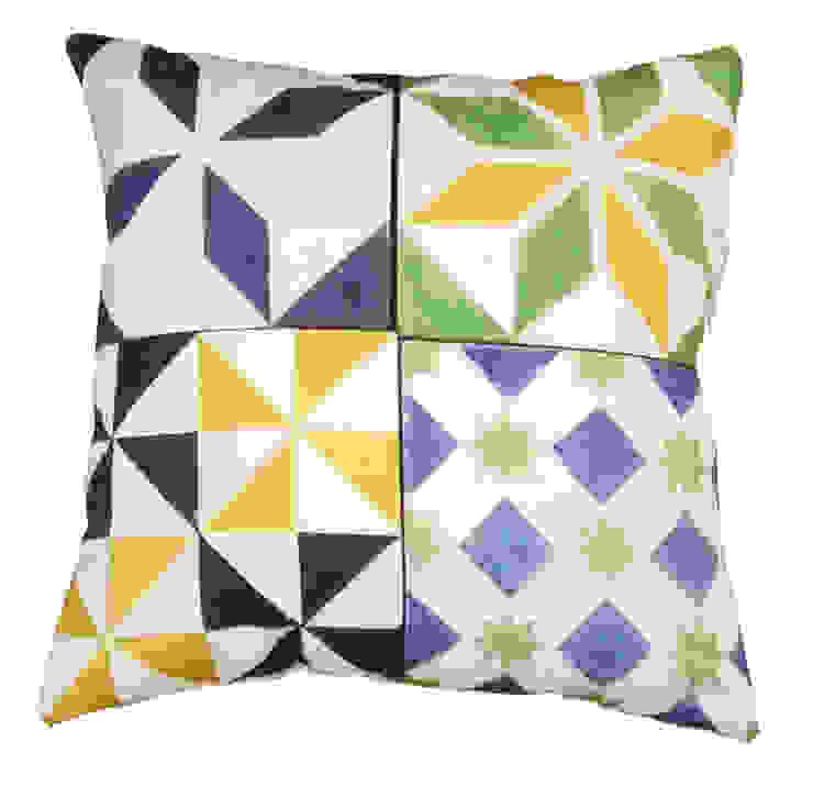 Almofada Mosaico by Pura Cal por Pura Cal, Design e Interiores, LDA Rústico