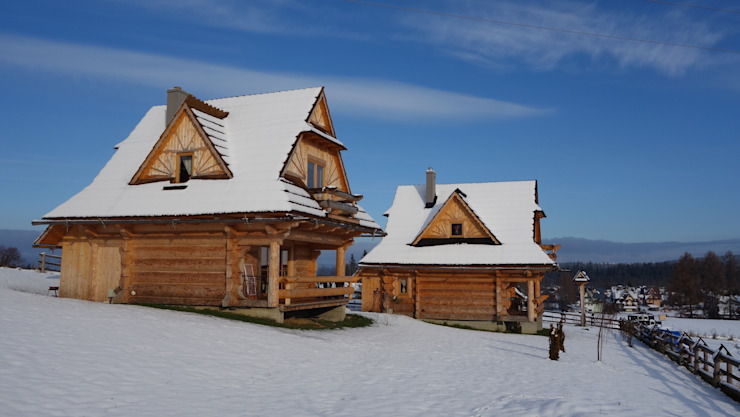 dom w Poroninie od DOMY GORALSKIE Wiejski