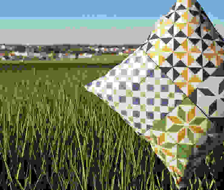 Almofada Mosaico by Pura Cal por Pura Cal, Design e Interiores, LDA Eclético