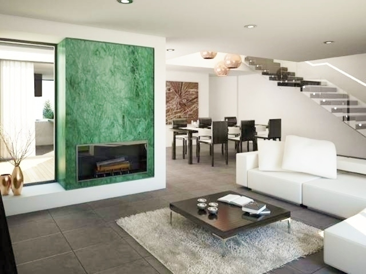 Evergreen Salas de estar modernas por Imoproperty - Real Estate & Business Consulting Moderno