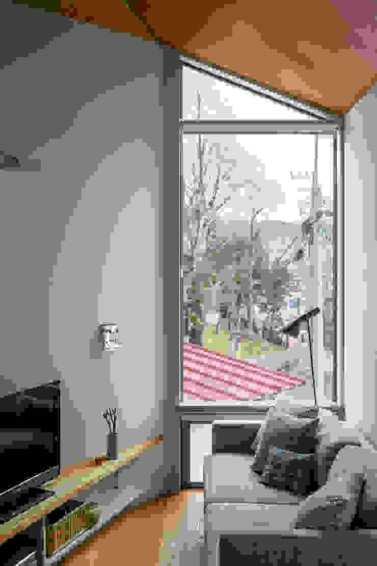 トンガリの家 モダンな 窓&ドア の 株式会社リオタデザイン モダン