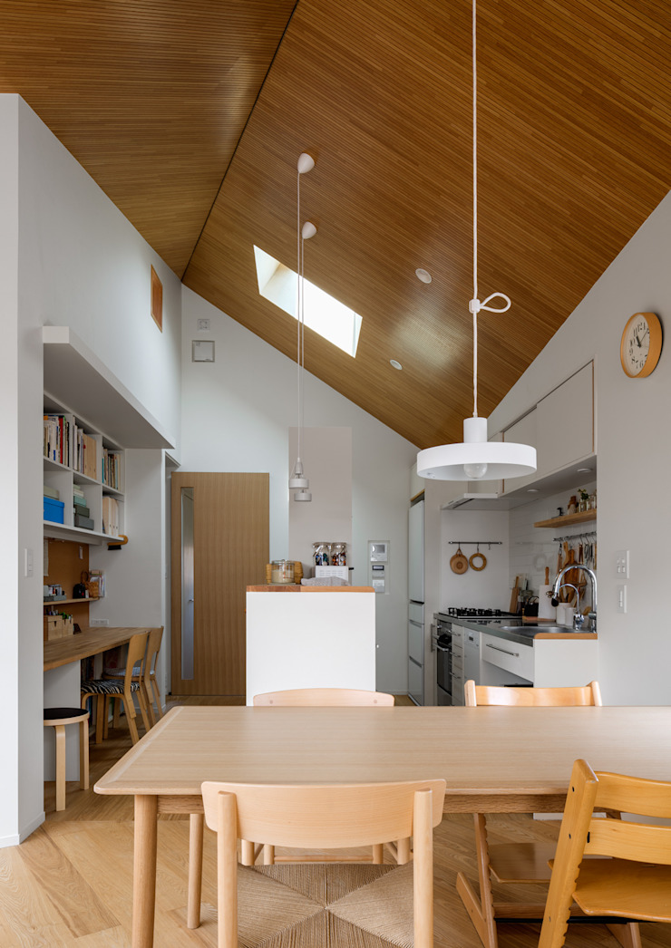 トンガリの家 モダンな キッチン の 株式会社リオタデザイン モダン