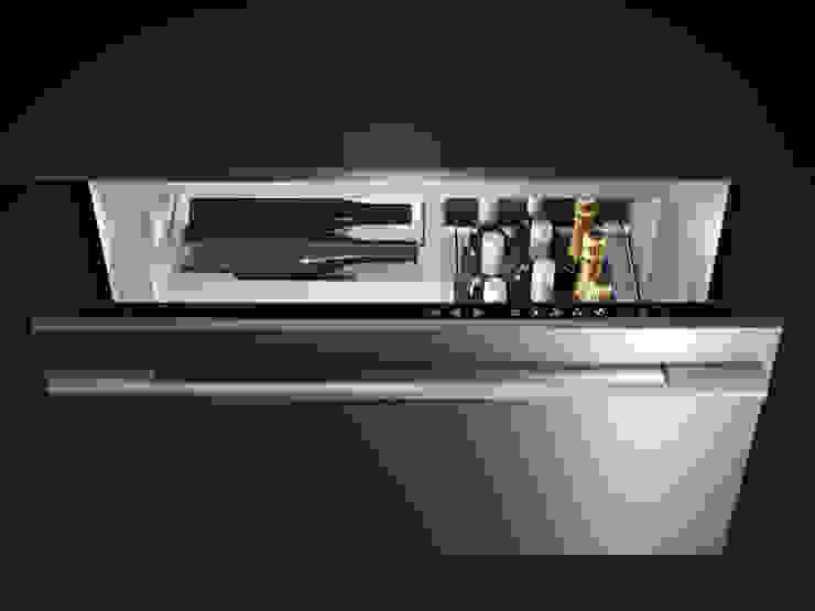 Fisher & Paykel CoolDrawer(TM) Fisher Paykel Appliances Ltd Built-in kitchens Iron/Steel Metallic/Silver