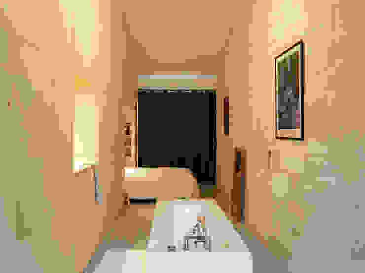 Maison étroite - Brachard de Tourdonnet architectes - Jean-Christophe Garcia photographe Chambre minimaliste par brachard de tourdonnet Minimaliste