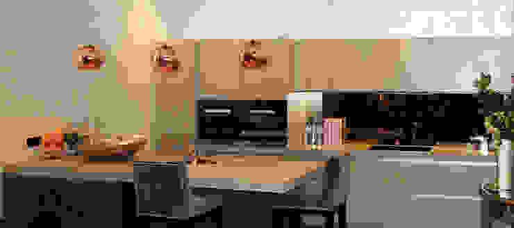 Coleherne Mews Comedores de estilo moderno de Concrete LCDA Moderno