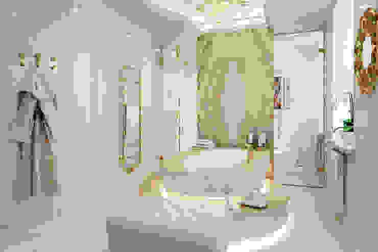 Хозяйская ванная комната Ванная в классическом стиле от Частный дизайнер Классический