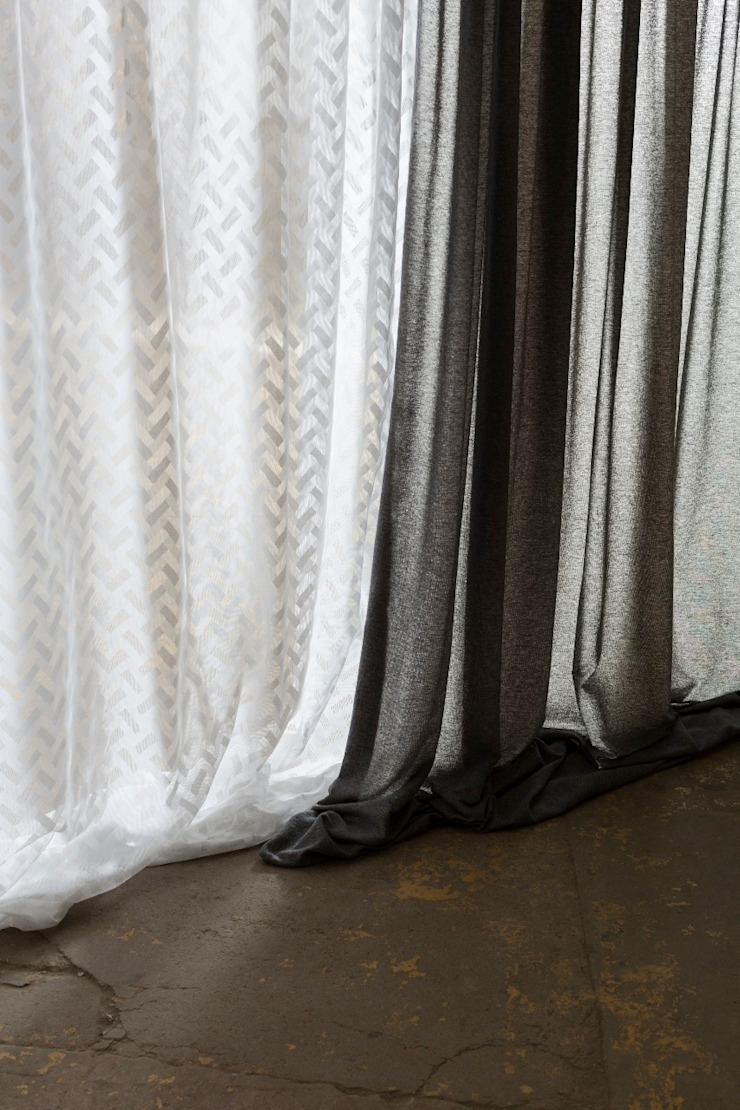 Galloway Sheers Collection MYB Textiles Вікна & Дверi Curtains & drapes