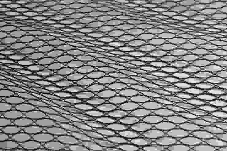 7924 Abstract Net - Navy de MYB Textiles Moderno