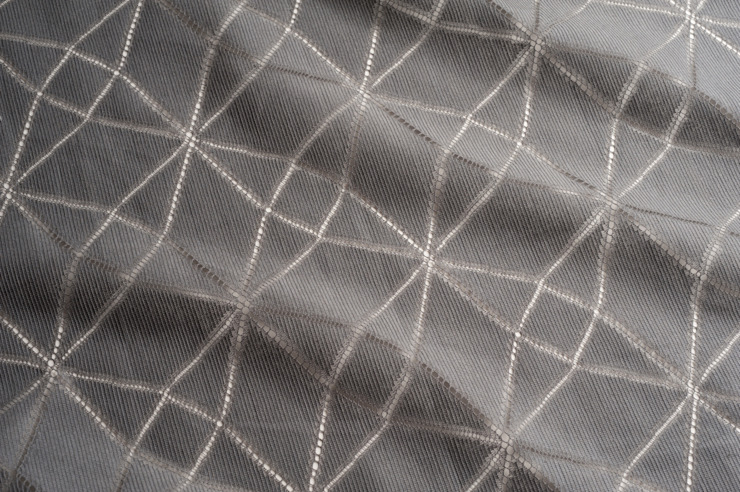 7941 Fractal - Charcoal de MYB Textiles Moderno