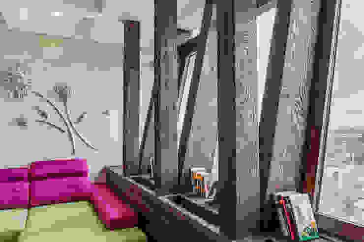Пентхаус в Санкт-Петербурге Гостиная в стиле лофт от Very'Wood Лофт