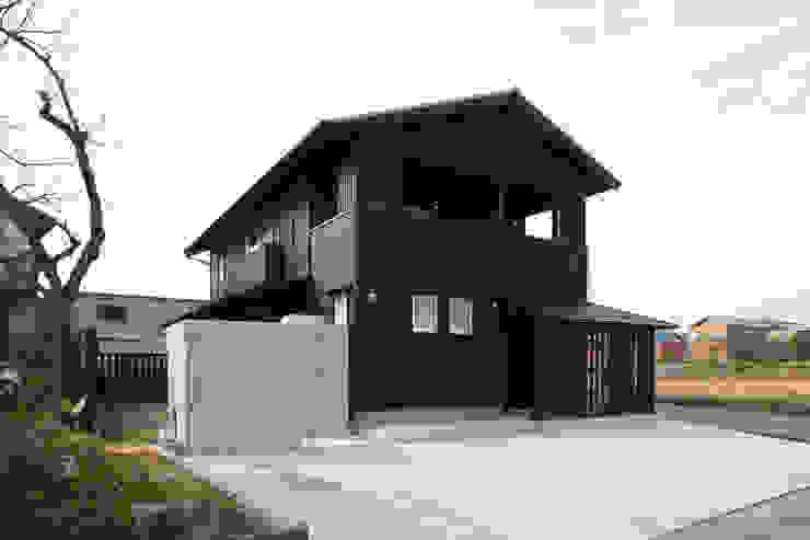 地域に残る仕様の外観 ラスティックな 家 の 篠田 望デザイン一級建築士事務所 ラスティック