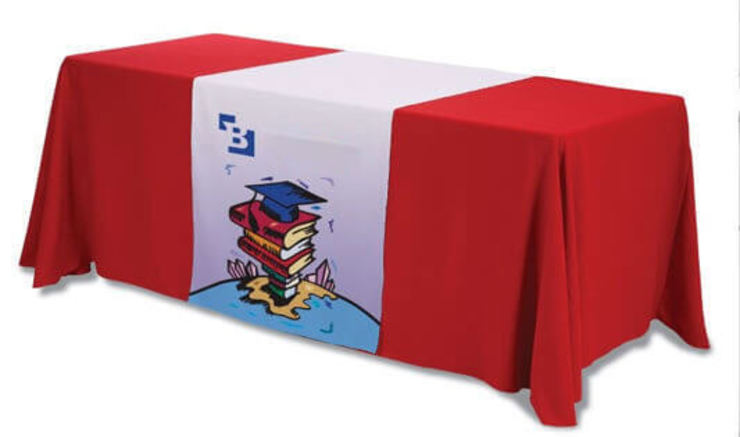 Overtake your Competitors with customized Table Runners by Banner Buzz Iндустріальний