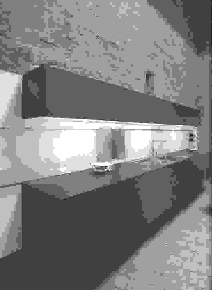 NX500 indigoblauw Minimalistische keukens van Eiland de Wild Keukens Minimalistisch