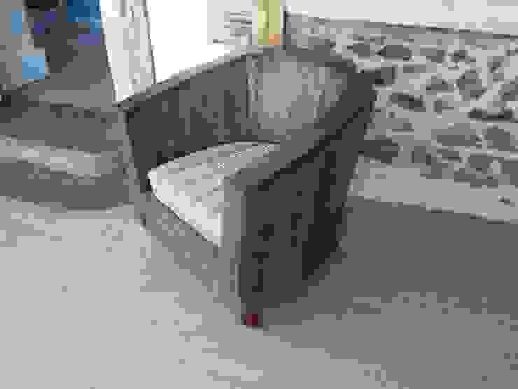 fauteuil club en palettes par boisbrut Éclectique