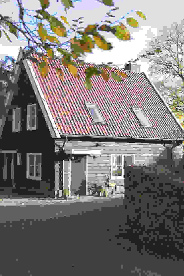 zwarte gepotdekselde delen Eclectische huizen van Boks architectuur Eclectisch