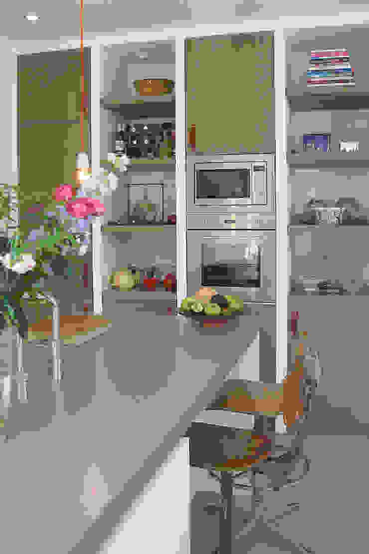 Boks architectuur Modern style kitchen