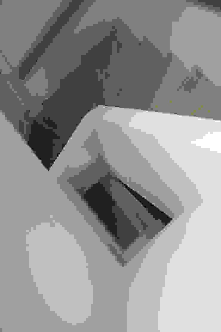 trappenhuis Moderne gangen, hallen & trappenhuizen van Boks architectuur Modern