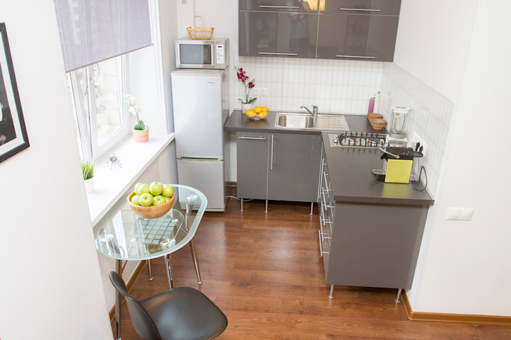 L'Essenziale Home Designs Scandinavian style kitchen