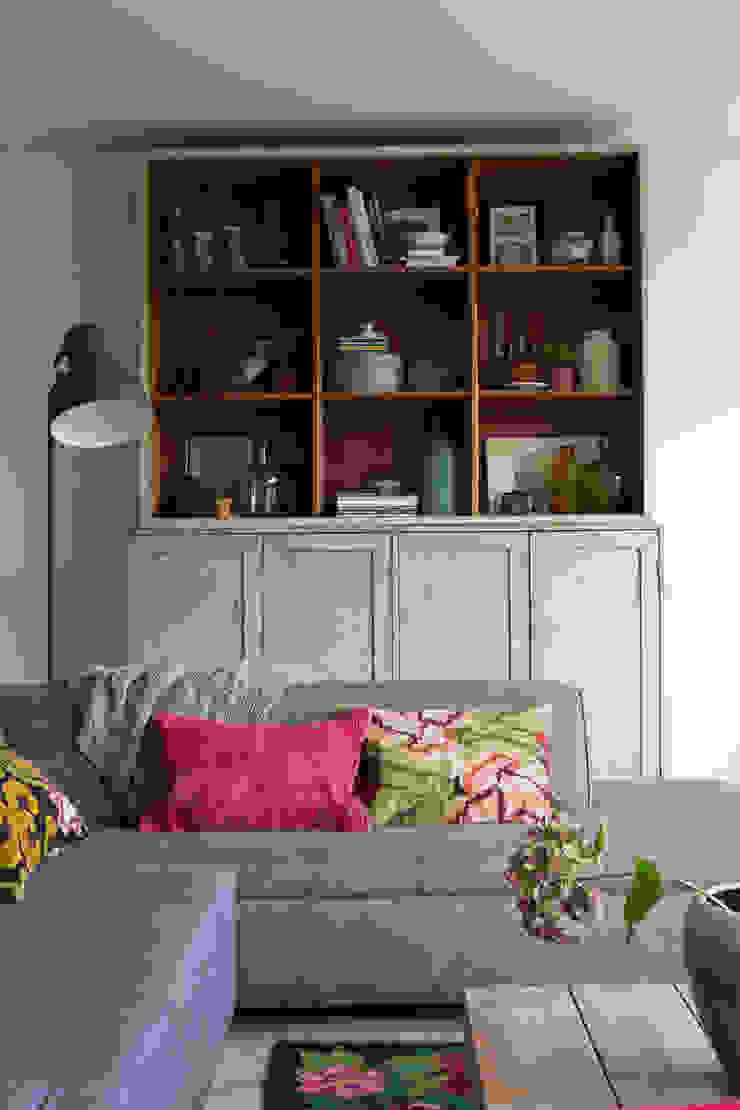 leefruimte Moderne woonkamers van Boks architectuur Modern