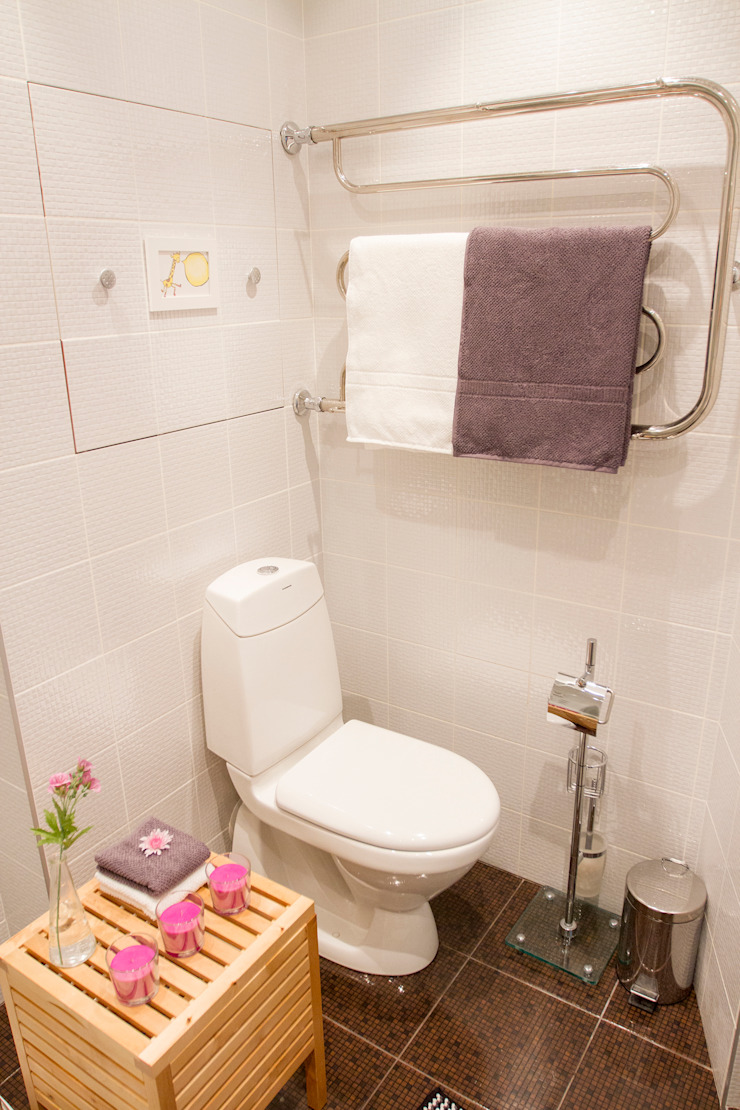 L'Essenziale Home Designs Scandinavian style bathroom