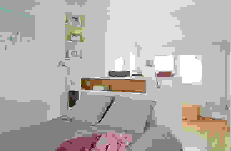 Un Duplex revisité -Neuilly: Chambre de style  par ATELIER FB, Moderne