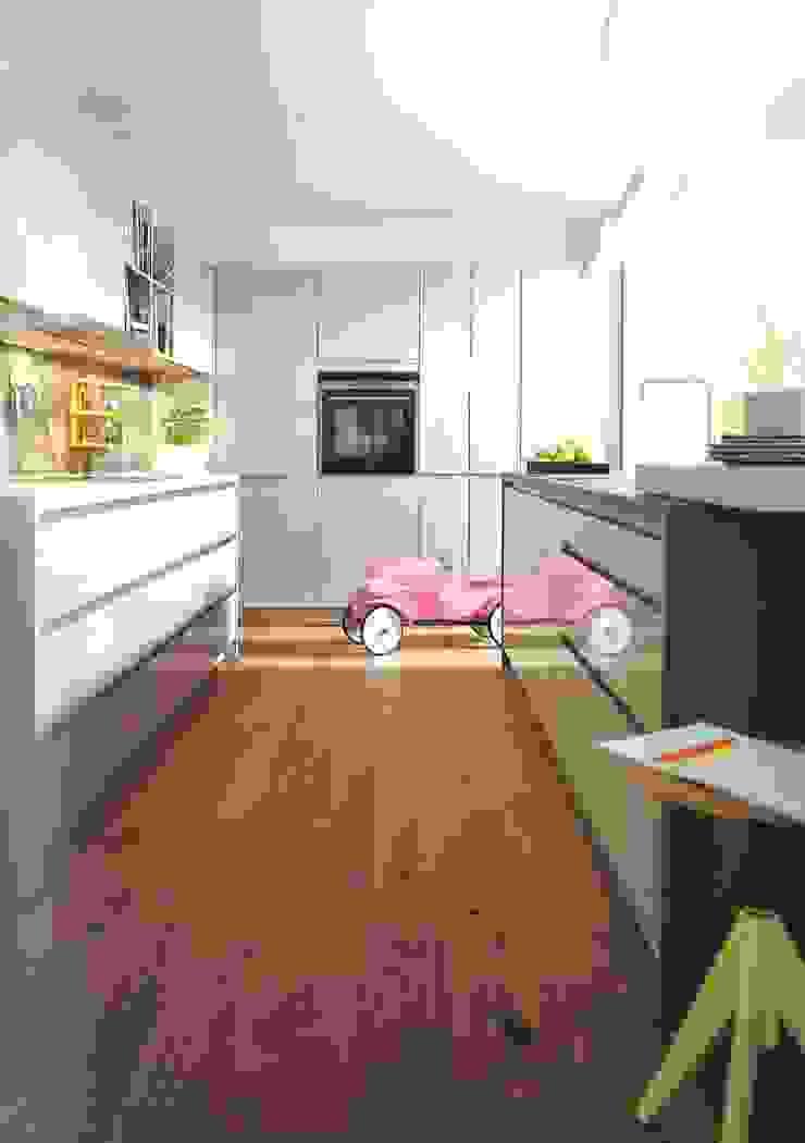 Cozinhas modernas por Eiland de Wild Keukens Moderno