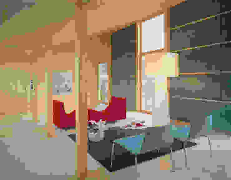 Livings de estilo minimalista de Dietrich Schwarz Architekten AG Minimalista