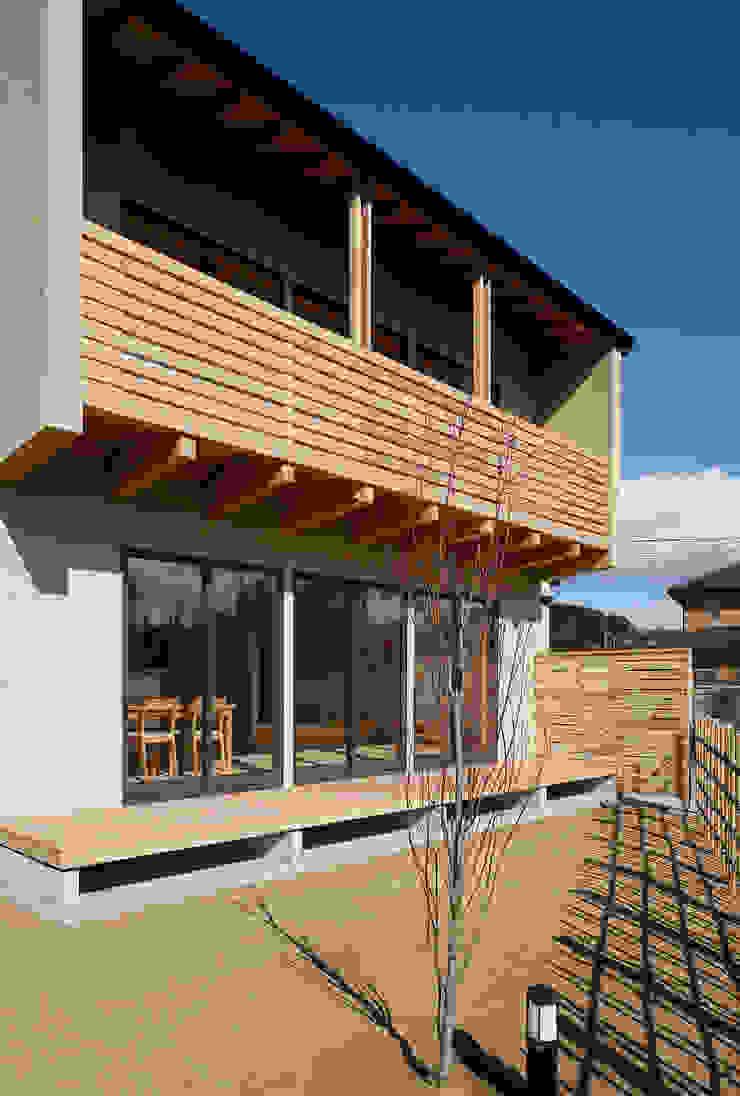 外観 オリジナルな 家 の 芦田成人建築設計事務所 オリジナル