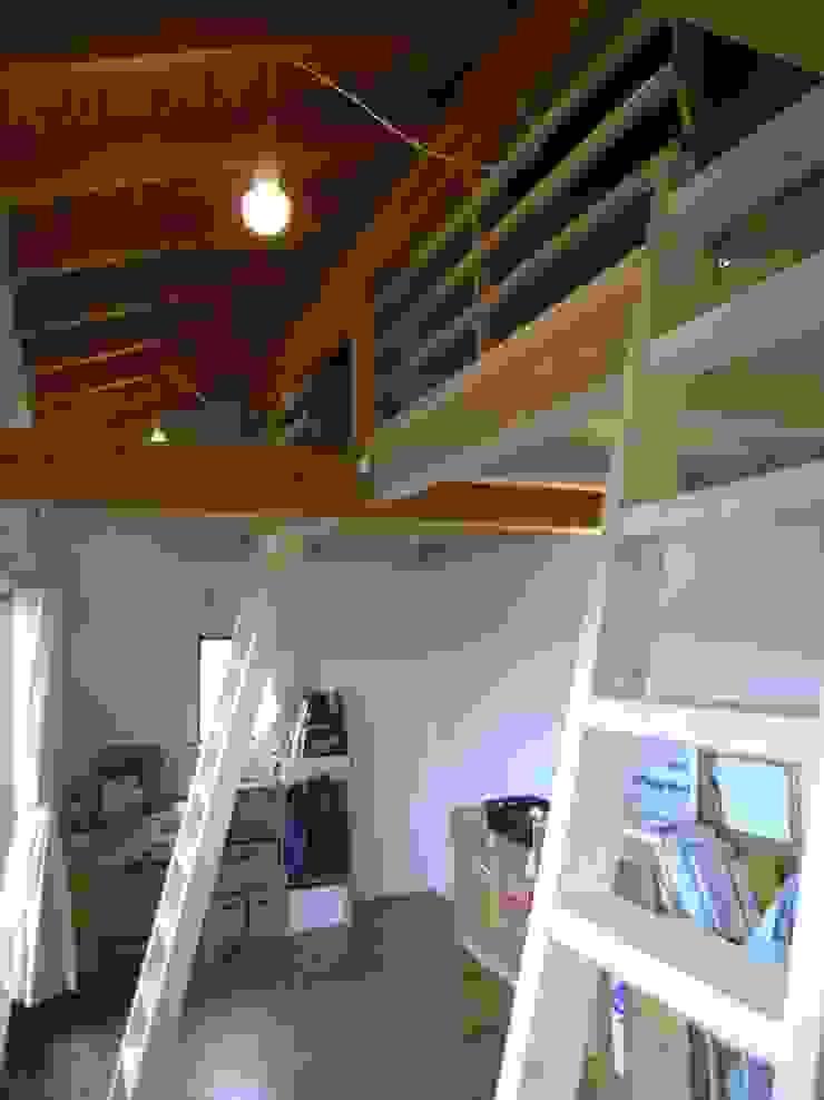 7年後の子供部屋 オリジナルデザインの 子供部屋 の 芦田成人建築設計事務所 オリジナル