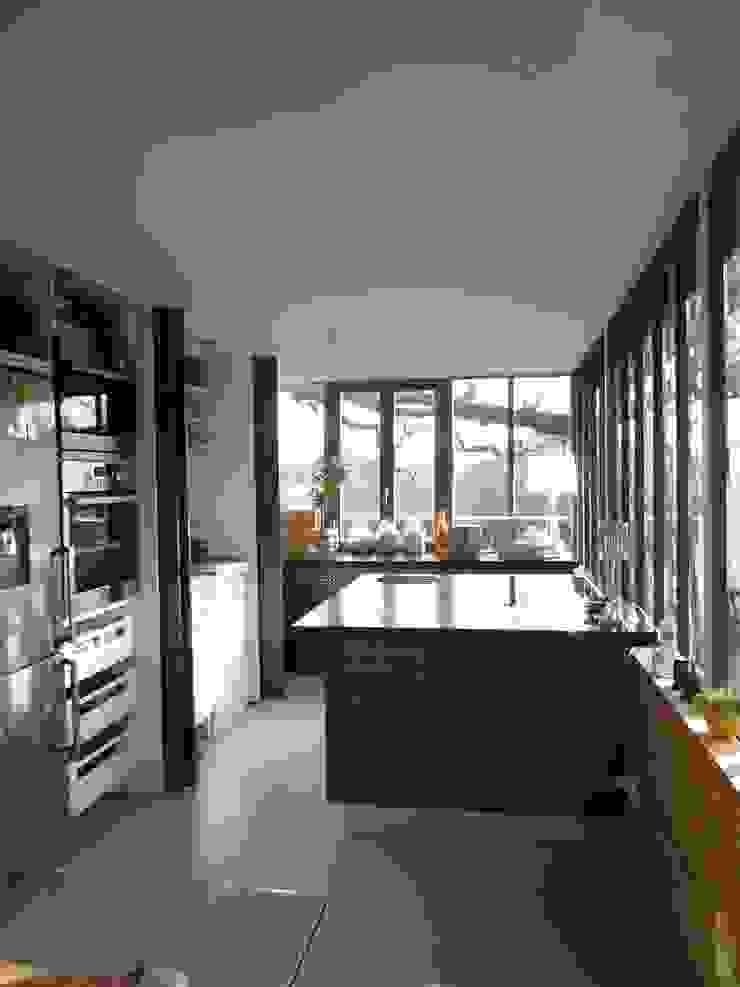 Projet réalisé espace cuisine par Claudie Soyer Moderne