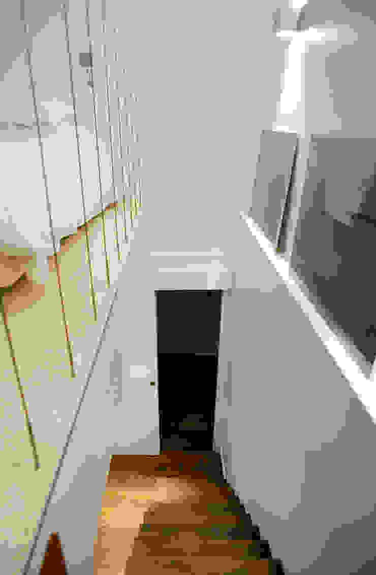 ห้องโถงทางเดินและบันไดสมัยใหม่ โดย ATELIER FB โมเดิร์น