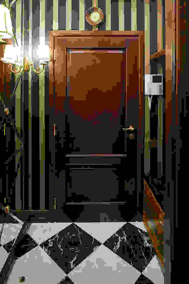 Классика с элементами Ар-деко. Коридор, прихожая и лестница в классическом стиле от InScale Классический