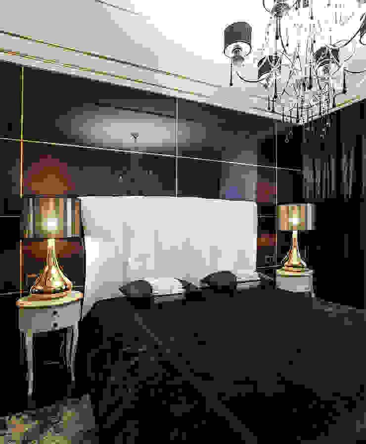 Классика с элементами Ар-деко. Спальня в классическом стиле от InScale Классический