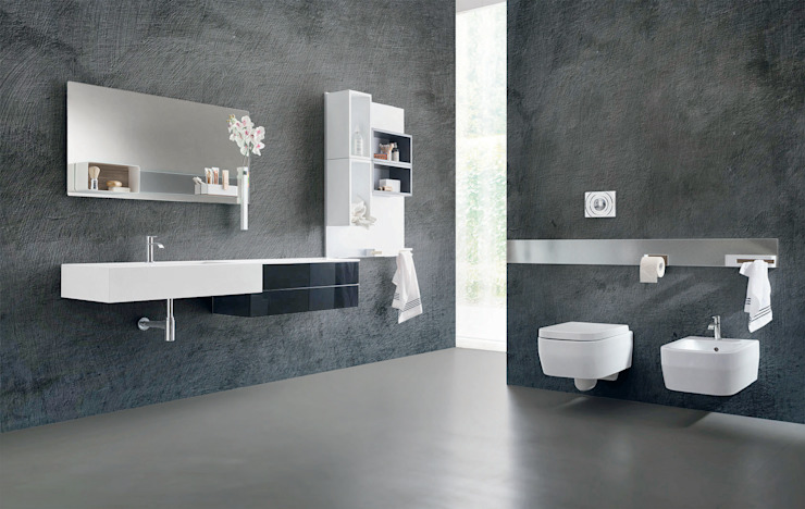 Magnetika bathroom - overview Modern bathroom by Ronda Design Modern