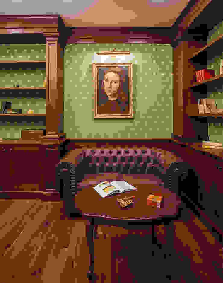 Классика с элементами Ар-деко. Рабочий кабинет в классическом стиле от InScale Классический