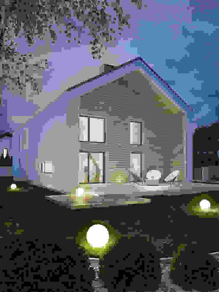 Kunkiewicz Architekci Casas de estilo moderno
