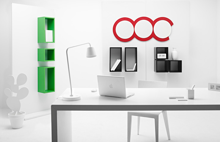 Magnetika Home office by Ronda Design Minimalist