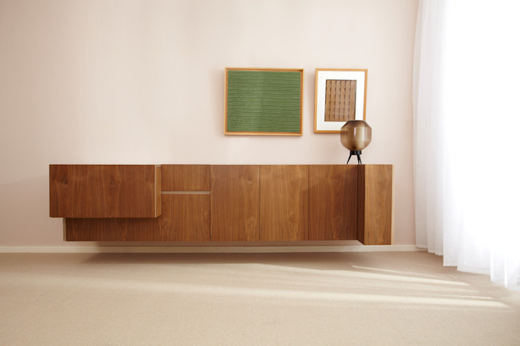 Dressoir: modern  door Marlies van Geenen, Meubelwerkplaats, Modern