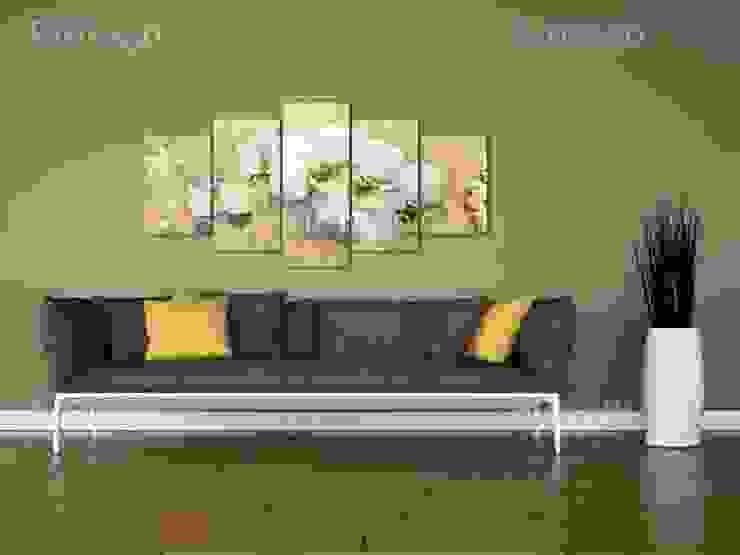 Playa y orquídea de BIMAGO Moderno
